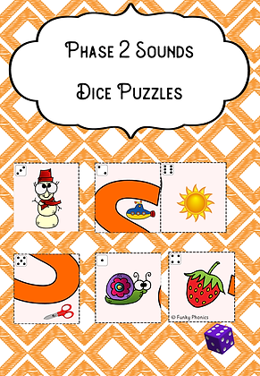 Phase 2 Sound Dice Puzzles