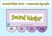 Sound-writer Phase 3 - consonant digraph