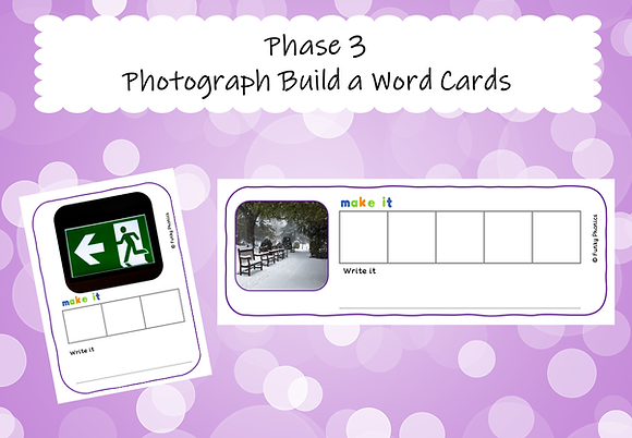Phase 3 Photograph Build a Word