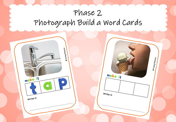 Phase 2 Photograph Build a Word