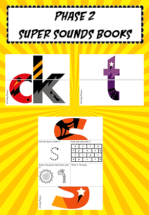 Phase 2 Super Sounds Books