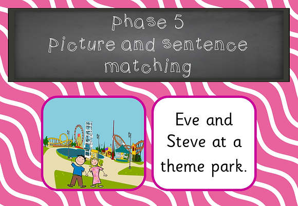 Phase 5 - Picture and Sentence Matching