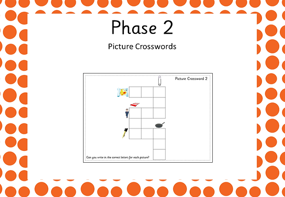 Phase 2 - Picture Crosswords