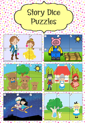 Story Dice Puzzles