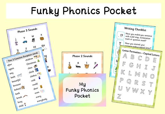 Funky Phonics Pocket