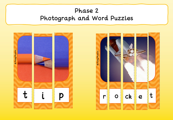 Phase 2 Photograph and Word Puzzles