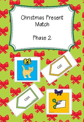 Christmas Themed - Phase 2 Christmas Present Match