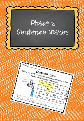 Phase 2 - Sentence Mazes