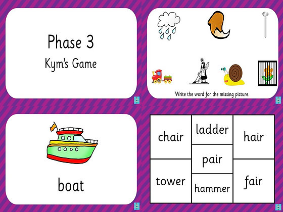Phase 3 - Kym's Game