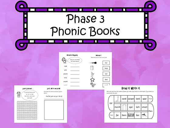Phase 3 - Phonic Books