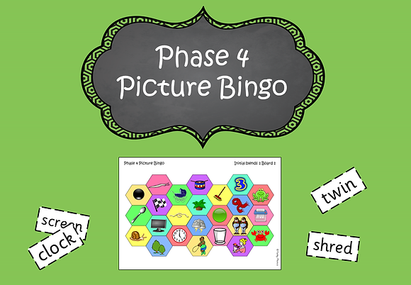 Phase 4 - Picture Bingo