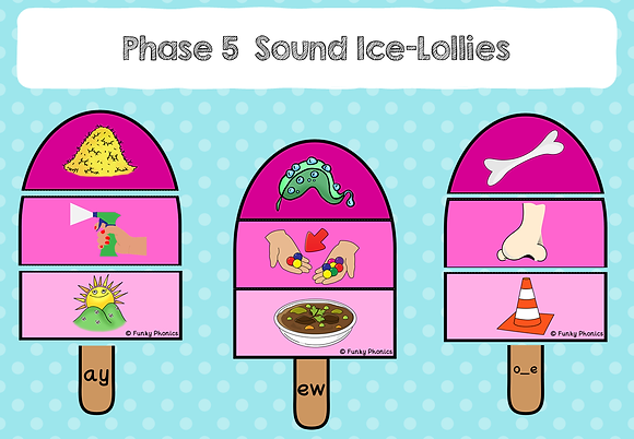 Phase 5 Sound Lollies