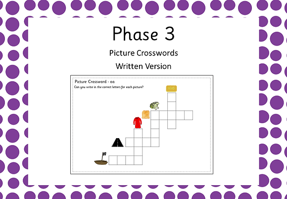 Phase 3 - Picture Crosswords