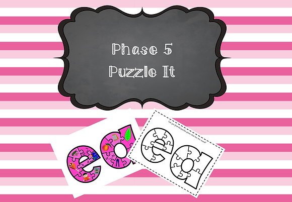Phase 5 - Puzzle It