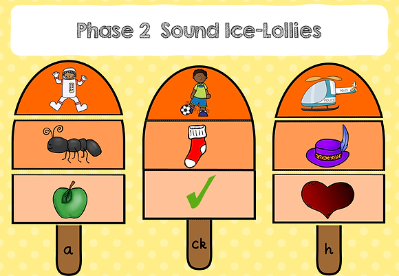 Phase 2 Sound Lollies