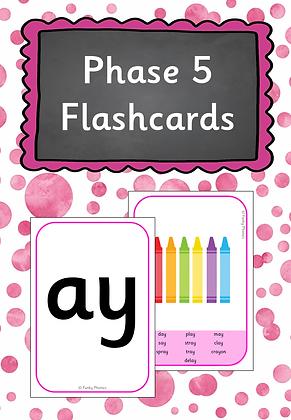 Phase 5 - Flashcards