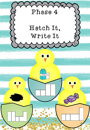 Easter/Spring Themed - Phase 4 Hatch It, Write, It