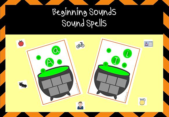 Beginning Sounds - Sound Spell