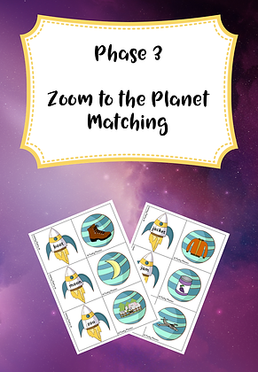 Phase 3 - Zoom to the Planet Matching