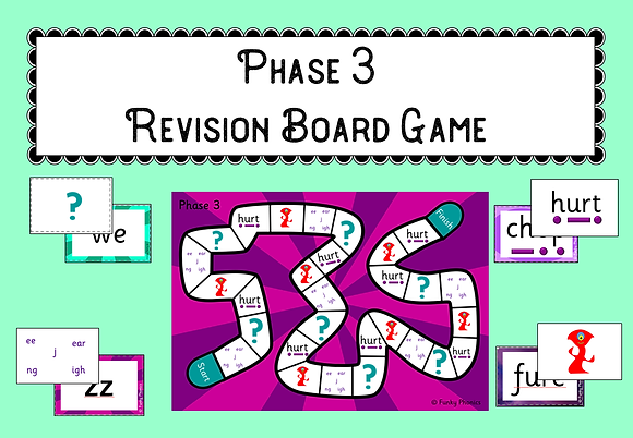 Phase 3 Revision Board Game