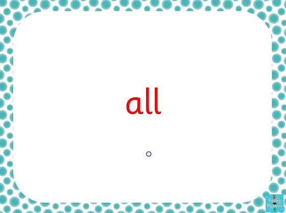 Kym's Game - Tricky Words Version