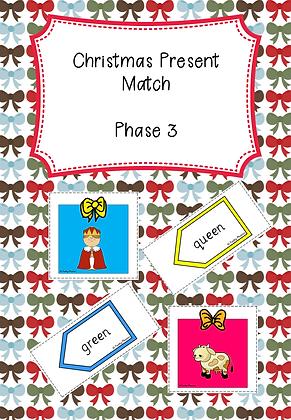 Christmas Themed - Phase 3 Christmas Present Match