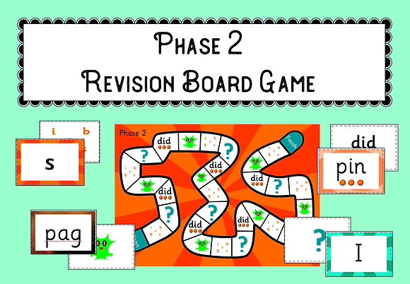 Phase 2 Revision Board Game