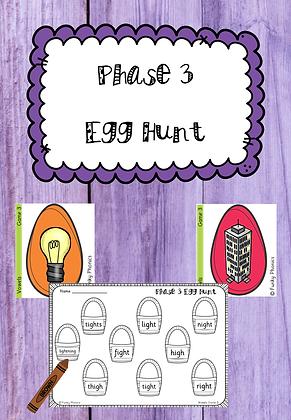 Easter/Spring Themed - Phase 3 Egg Hunt