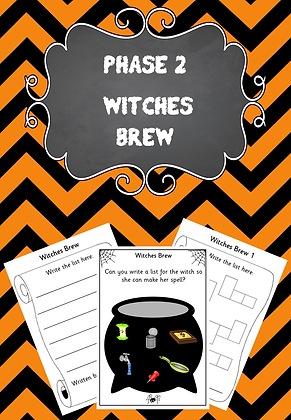 Halloween Themed - Phase 2 Witches Brew