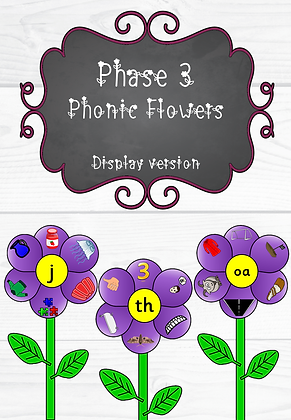 Phase 3 - Phonic Flowers