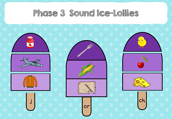 Phase 3 Sound Lollies