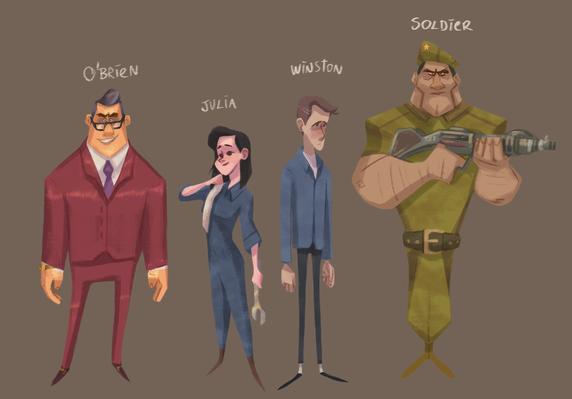 1984 Characters (George Orwell)