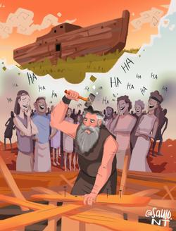 Noah and his mindset.