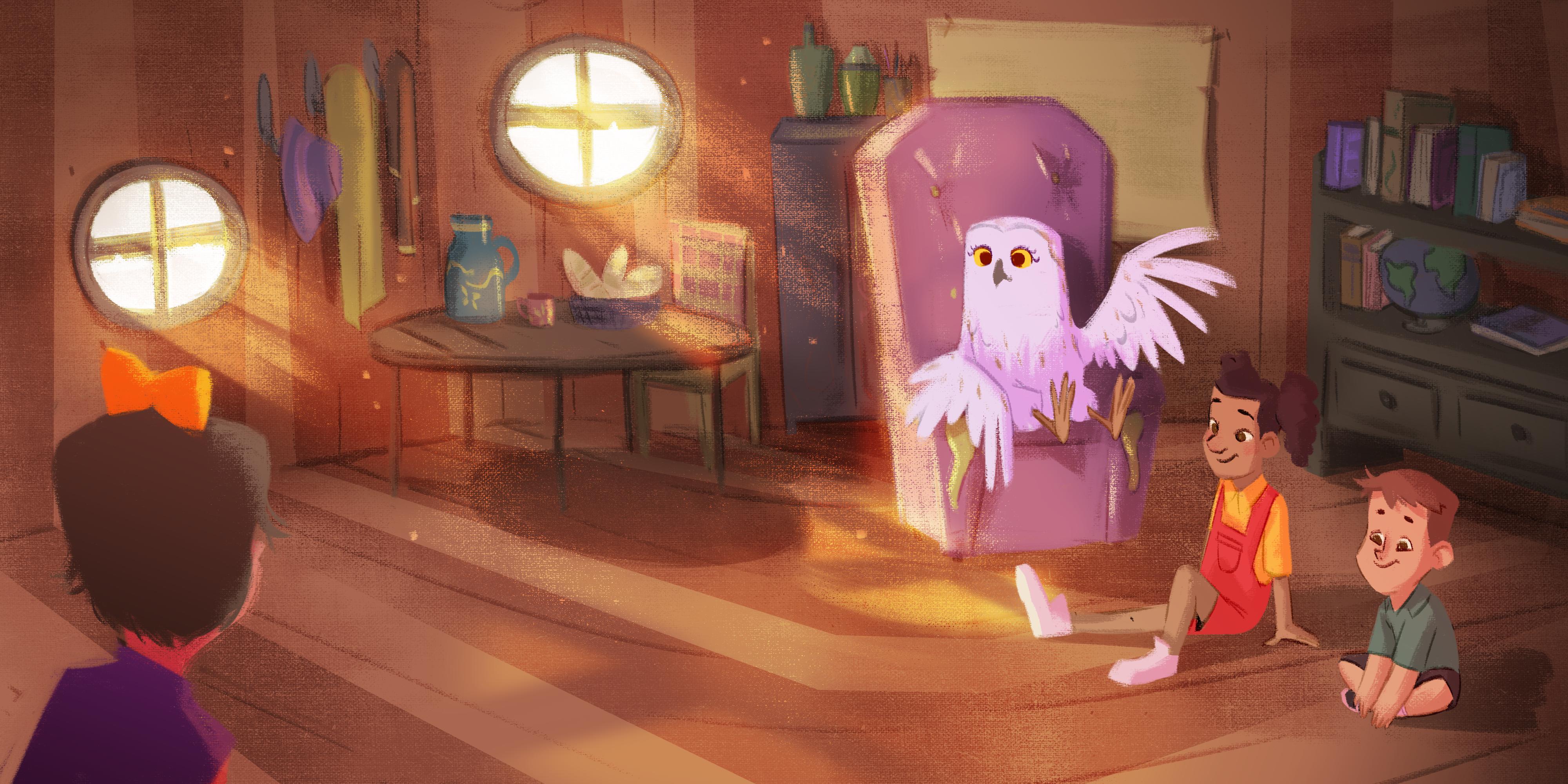 Owl's house!