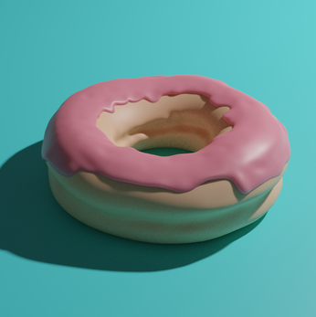 Donut without textures