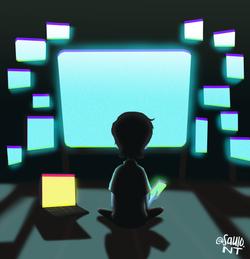 Tech boy