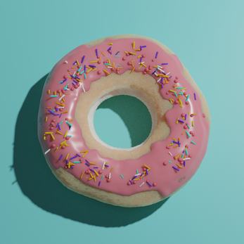 Donut front