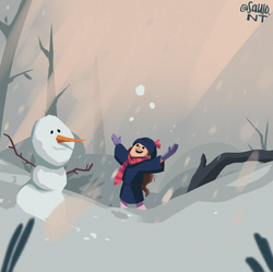 Winter came!