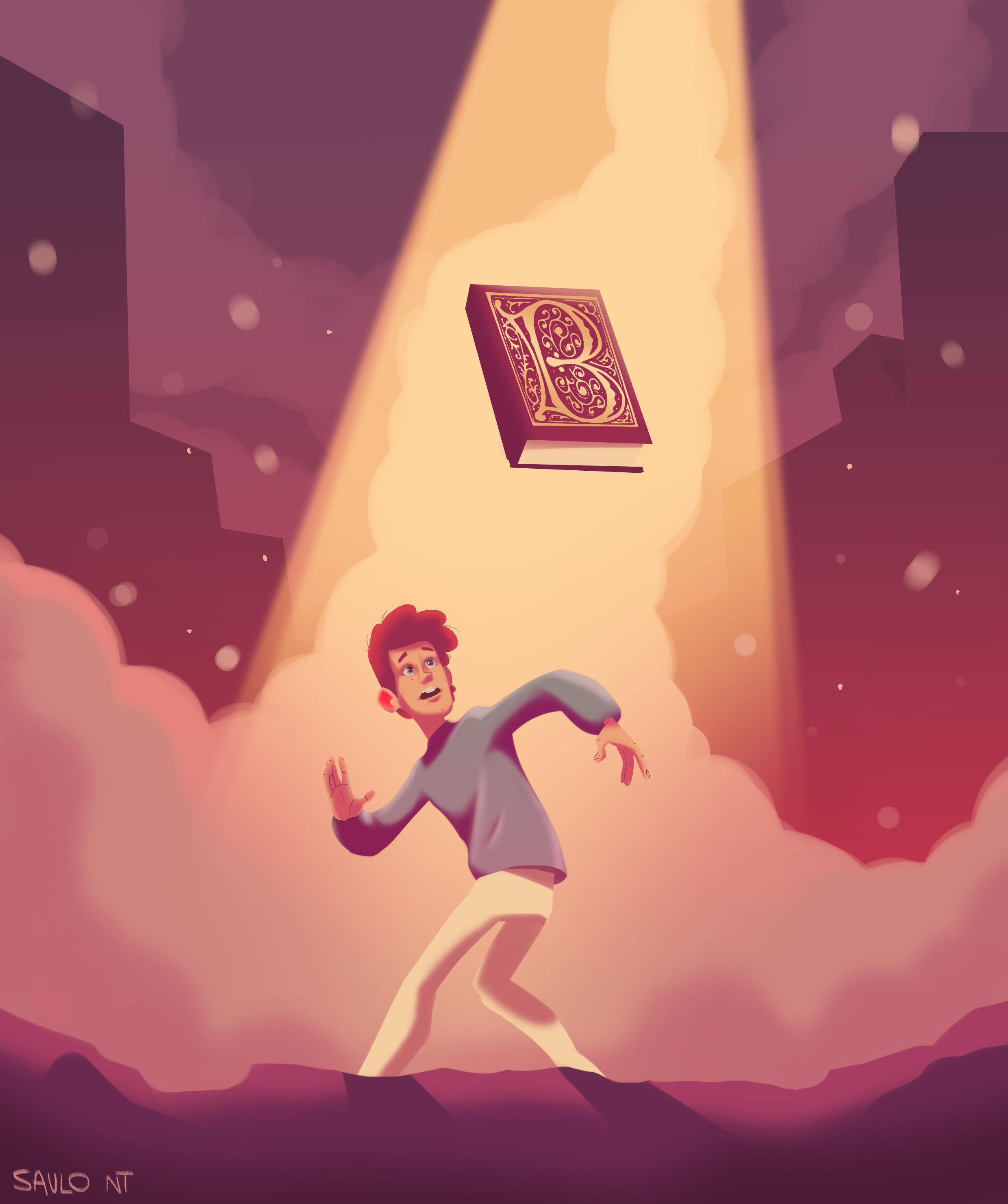 Ivan & the hidden book