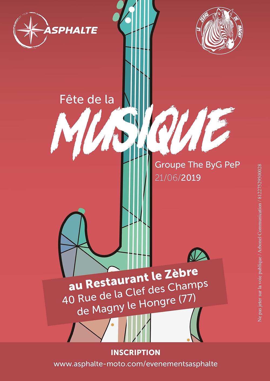 Magny Le Hongre Restaurant venez fêter la musique avec asphalte ! | asphalte