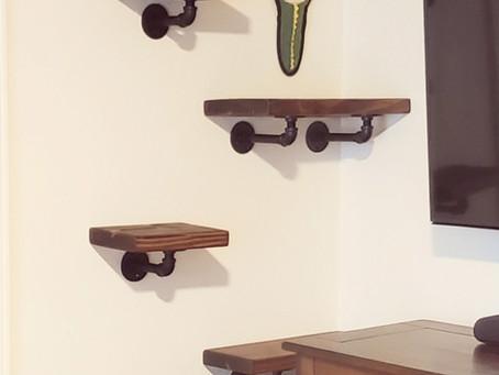 DIY Kitty Wall Condo
