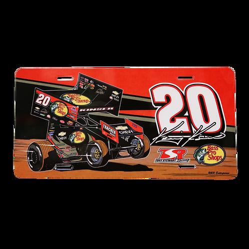Kraig #20 License Plate