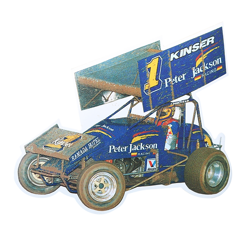 Peter Jackson Sprint Car Decal