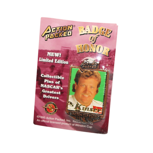 Steve Badge of Honor Pin