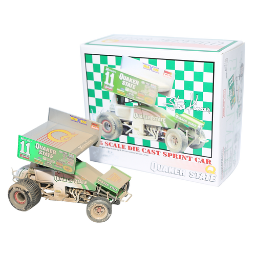 Steve 2001 1:25 Quaker State Dirty Sprint Car
