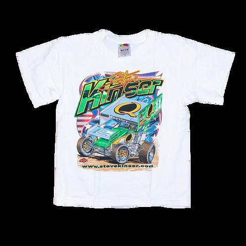 Steve Kinser Q/S NST Kids Shirt