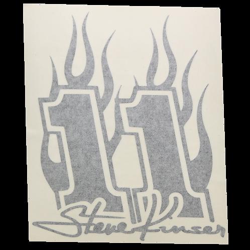 Steve Kinser Flames 11