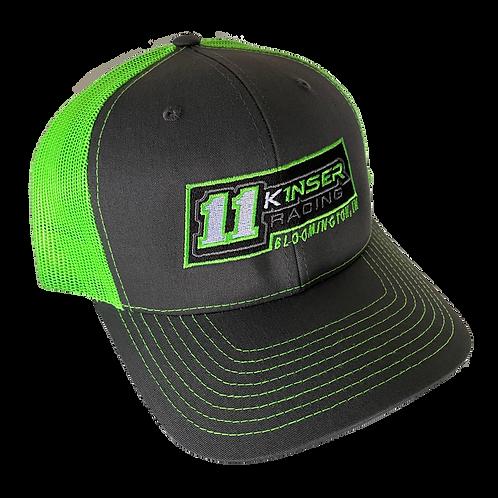 Kinser Racing 11K Richardson - Grey/Green