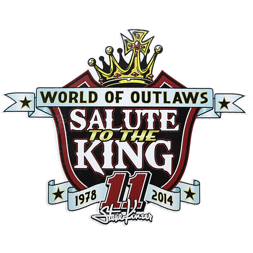 Salute to the King Decal