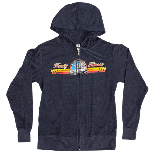 Kraig Throwback Zip Hoodie - Lightweight